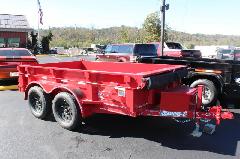 2018 Diamond C 6.5'x10' Dump Trailer