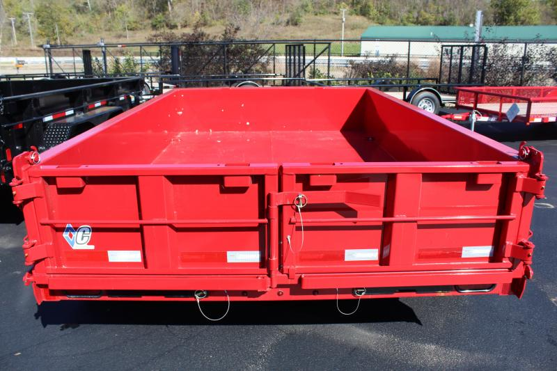 "2017 Diamond C ""77""x10""  Dump Trailer 41EDL"