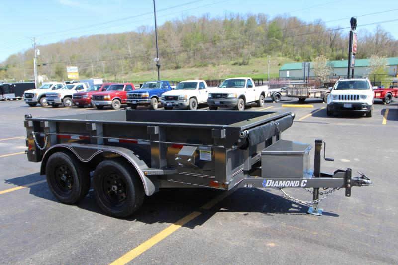 "2018 Diamond C 77""x10' Dump Trailer"