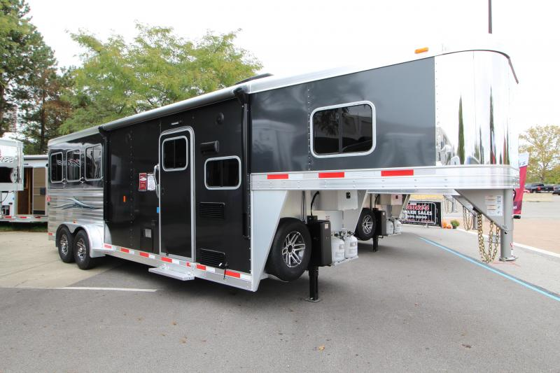 2019 Exiss Trailers Escape 7308 Horse Trailer