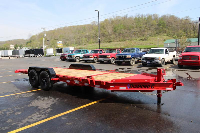 2019 Diamond C 48HDT 20' Low Pro Equipment Tilt Trailer