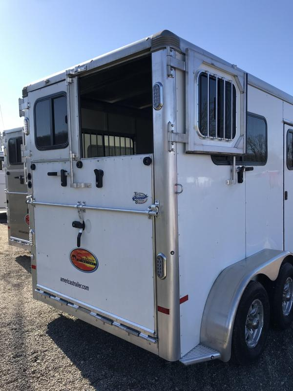 2020 Sundowner Charter 2 Horse Trailer L1KB7974