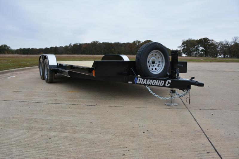 2019 Diamond C Trailers GTF235L18X83 OPEN CAR TRAILER Car / Racing Trailer