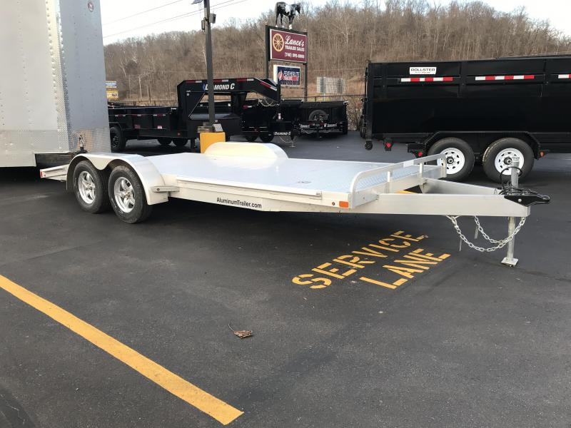 2018 ATC Arrow Deluxe 18' Open Car Hauler