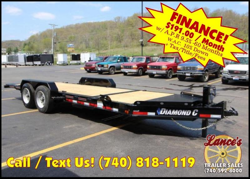 "2018 Diamond C 48HDT 82""x20' Equipment Tilt Trailer J1200707"