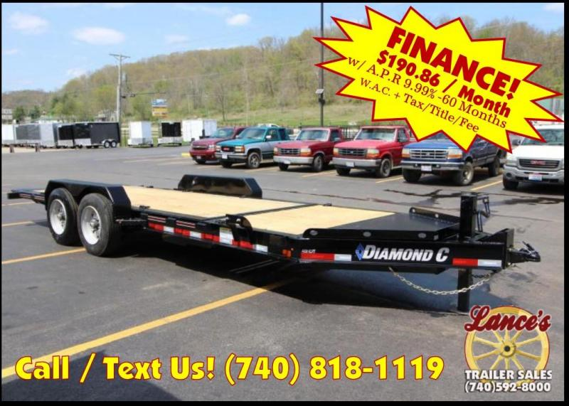 "2018 Diamond C 48HDT 82""x20' Equipment Tilt Trailer J1200707 in Ashburn, VA"