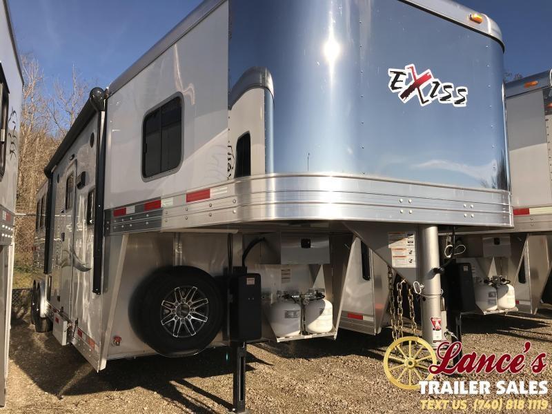 2019 Exiss Endeavor 8310A 3 Horse Slant Load Trailer K5071020