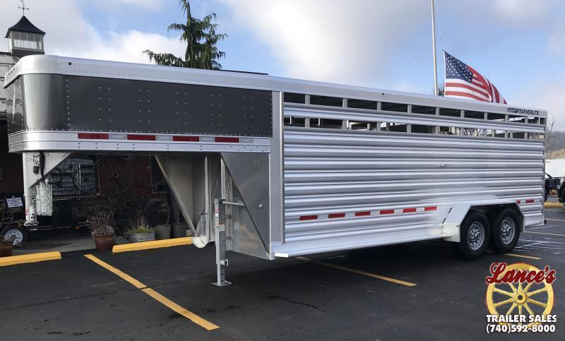 2019 Featherlite 8117 20' Livestock Trailer KC150991