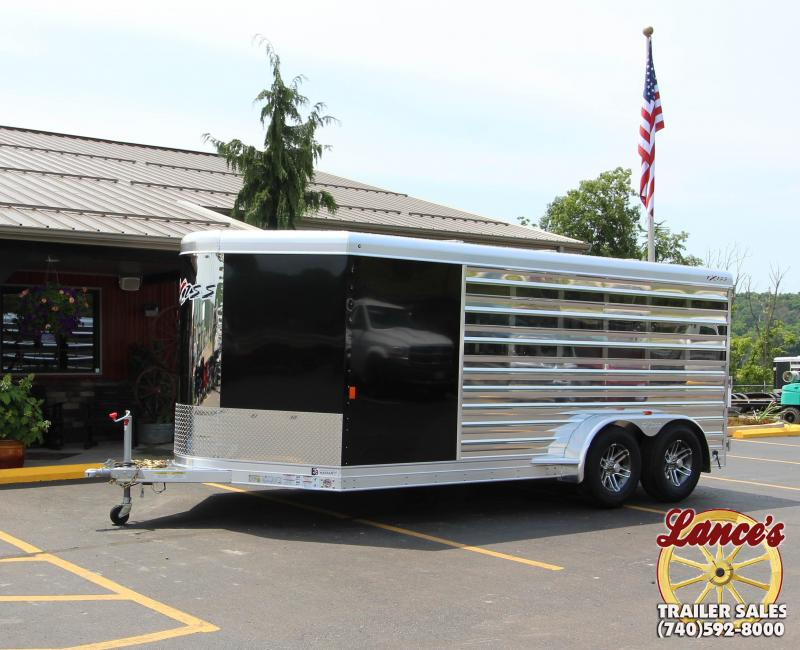 2019 Exiss Exhibitor 16' Livestock Trailer w/ Air Gaps K5071199