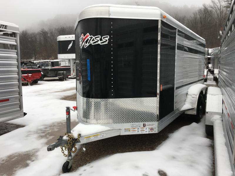 2019 Exiss Mini Combo Exhibitor 15' Livestock Trailer K5072042