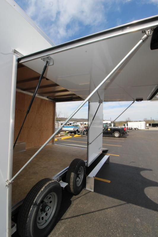2019 ATC Raven 8.5'x24' Enclosed Car Hauler KC215450