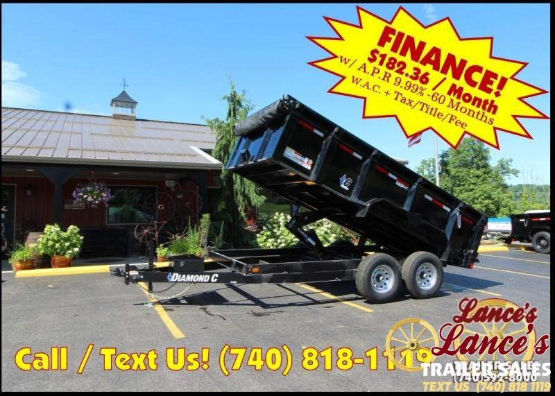 2018 - DEMO 7' X 14' - 14900LB GVW - 1-ONLY -SALE ENDS May 15th