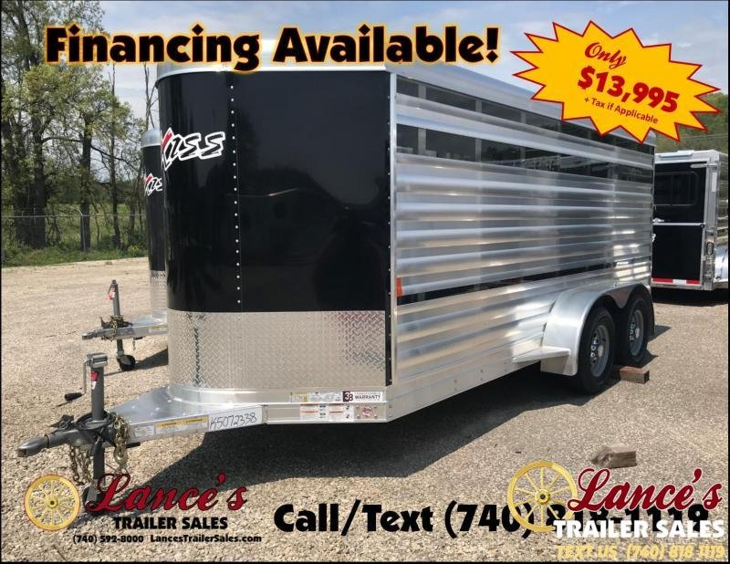 2019 Exiss Mini 15' Pen System Lo-Pro Show Bumper Trailer
