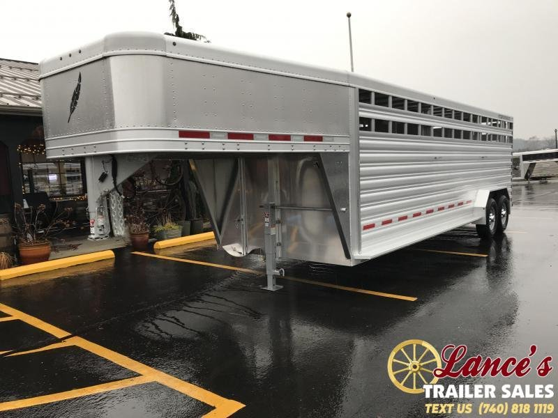 2019 Featherlite 8127 7'x24' Livestock Trailers KC151054