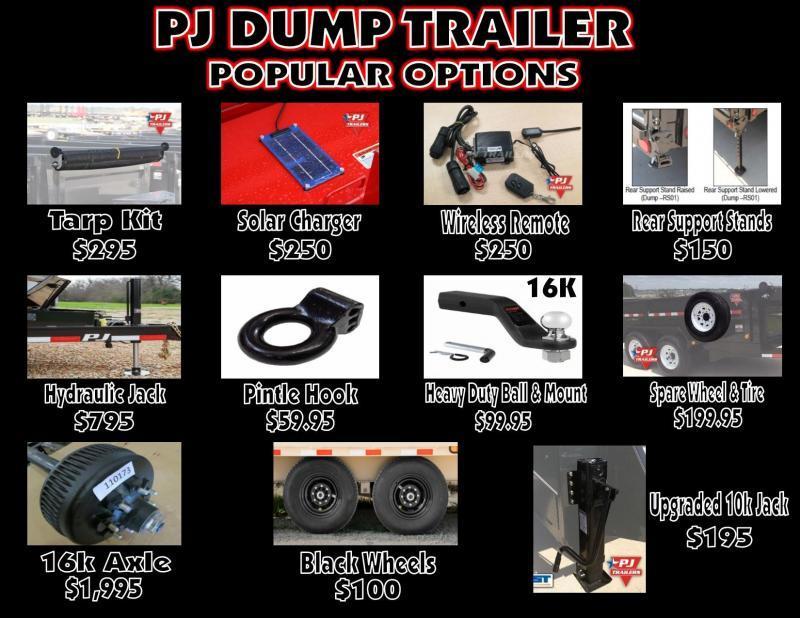 2020 PJ Trailers Dump Trailer 14k