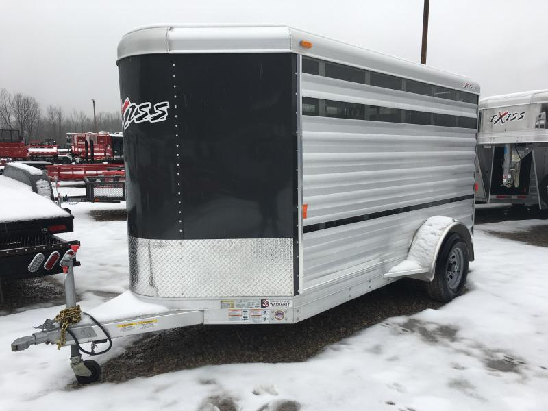 2019 Exiss Mini Exhibitor 11' Livestock Trailer K5072033