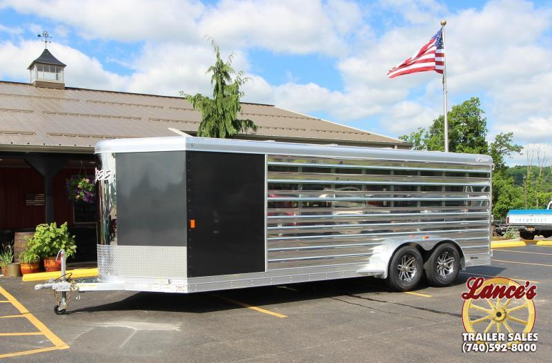 2020 Exiss Exhibitor 20' Low Pro Show Bumper Trailer w/Air Gaps