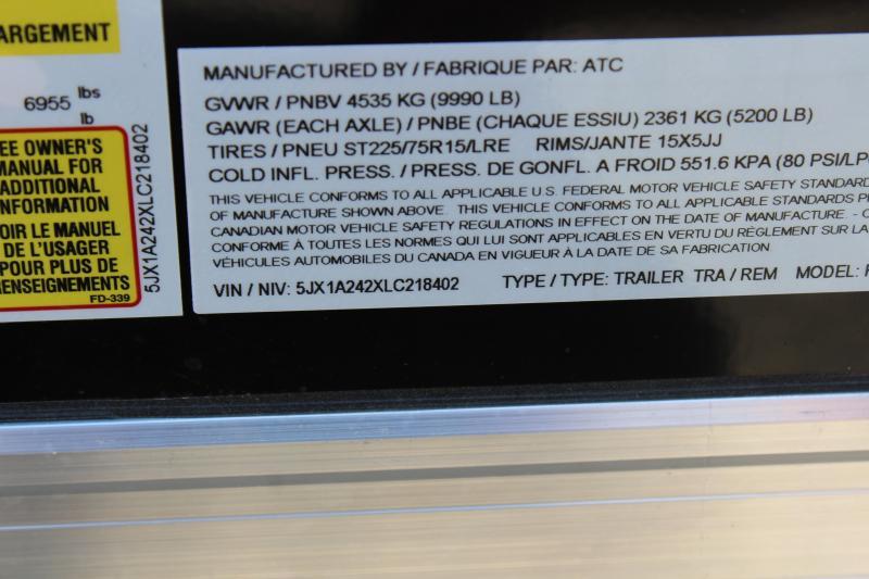 """2019 ATC 8'5""""x24' Enclosed Car Hauler"""