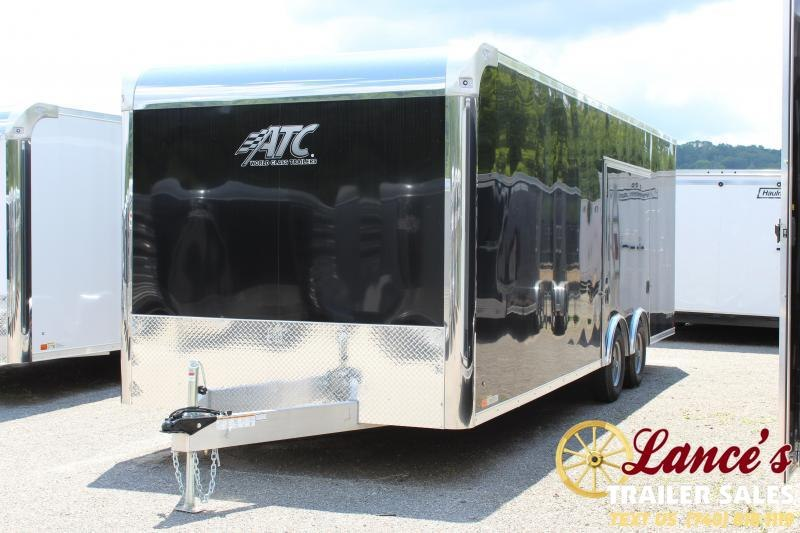 "2019 ATC 8'5""x24' Enclosed Car Hauler"