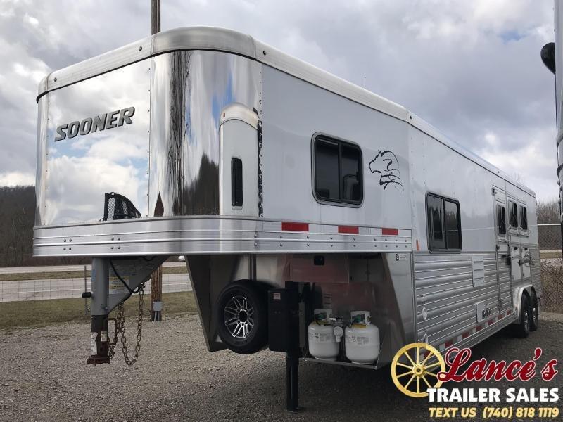 2019 Sooner Premier 8311 3 Horse Slant Load LQ K5071024