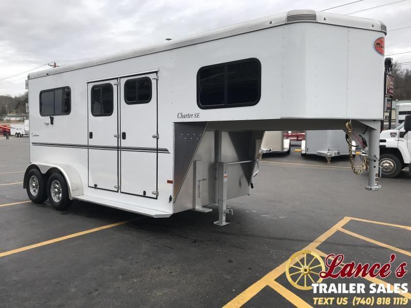 2020 Sundowner Charter 2 Horse Trailer L1KB7980