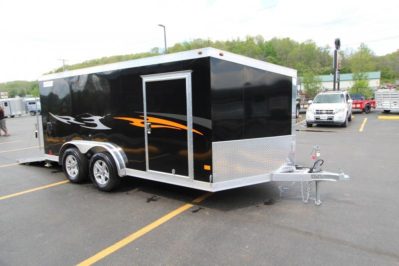 "2018 Haulmark 14' ""Low Hauler"" Motorcycle Trailer"