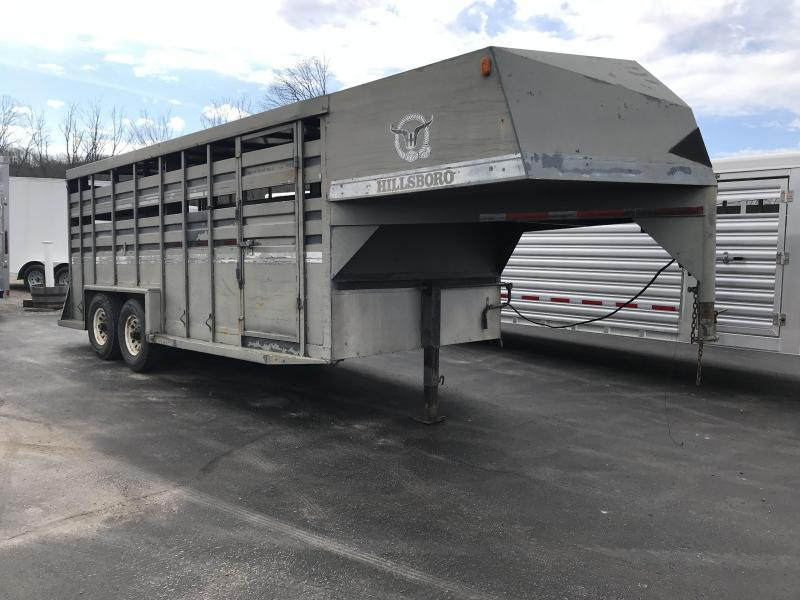 1995 Hillsboro 18' Livestock Trailer