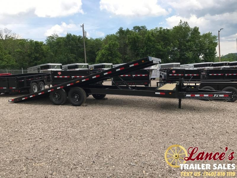 "2020 PJ Trailers 82"" x 24' BUMPER TILT EQUIPMENT"