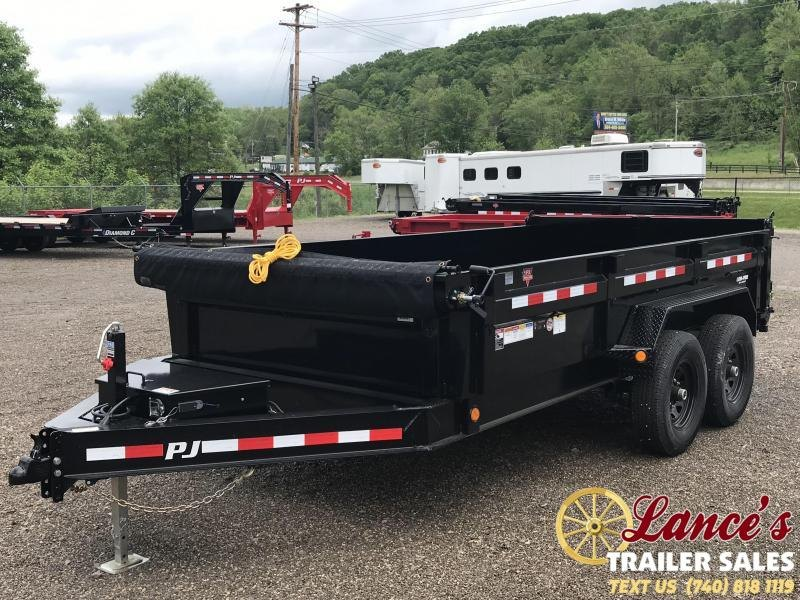2019 PJ 7'x14' Heavy Duty Dump Trailer