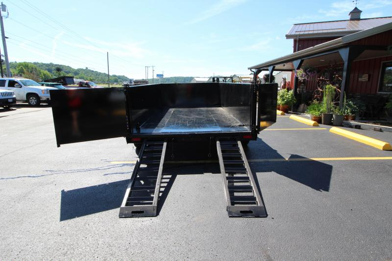 "2018 Diamond C 82""x14' Heavy Duty Low Pro Dump Trailer"