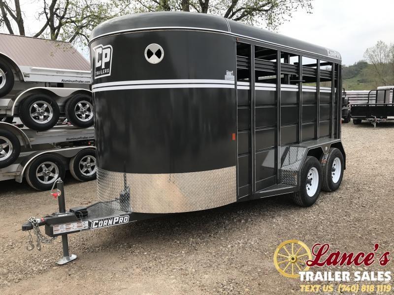 2019 CornPro 14' Livestock Trailer KE074374