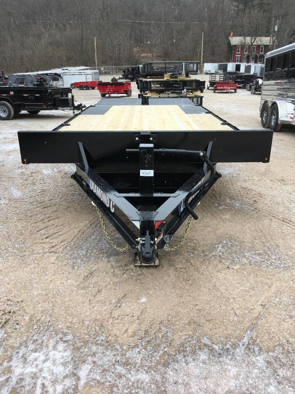 "2019 Diamond C DEC 102"" x 20' Equipment Trailer K1208784"