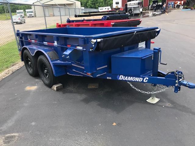 2019 DIAMOND C 5'x10' DUMP TRAILER