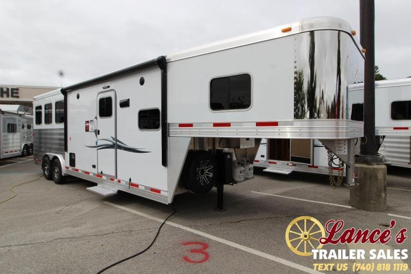 2019 Exiss Endeavor 8310A 3 Horse Slant Load Trailer K5071019
