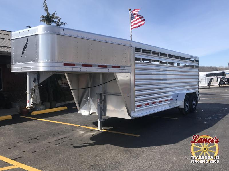 2019 Featherlite 8117 20' Livestock Trailer KC151206