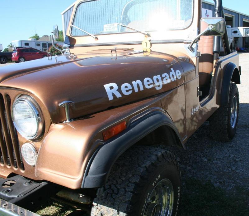 1980 Jeep Renegade CJ5