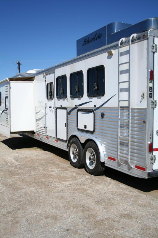 2008 Silver Lite Duster Conversions Horse Trailer