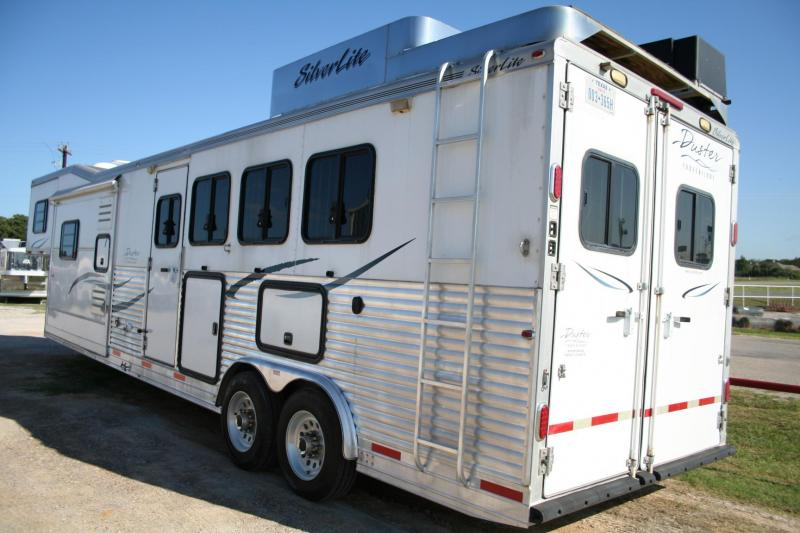 2008 Silver Lite Duster Conversions Horse Trailer in Ashburn, VA