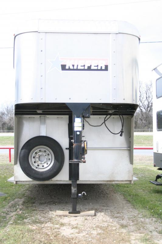 2014 Kiefer Manufacturing Deluxe II Livestock Trailer