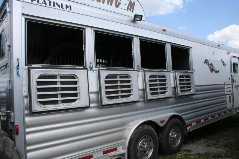 2011 Platinum Coach 4H Horse Trailer