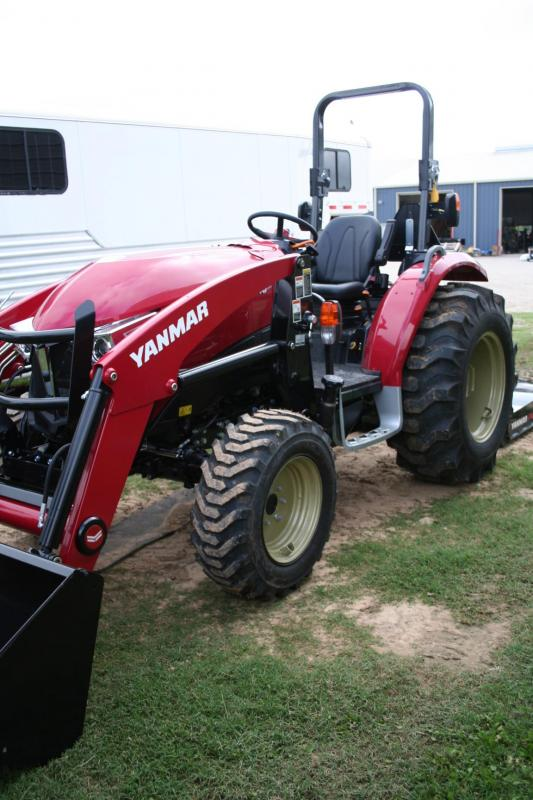 2018 Yanmar YT347 Tractor