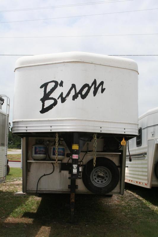 2014 Bison Trailers Competitor AL Horse Trailer