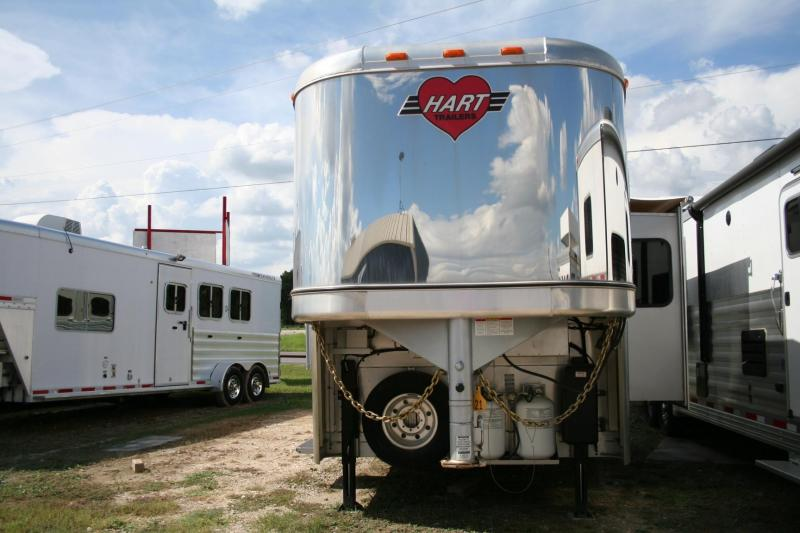 2015 hart trailers outlaw conversations horse trailer