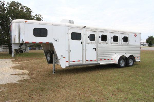 2017 Hart MVP 4 Horse Slant Load Gooseneck Horse Trailer in Ashburn, VA