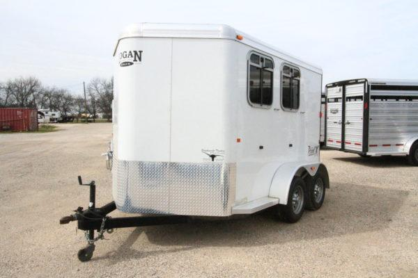 2011 Logan Rebel 2H Bumper Pull Horse Trailer