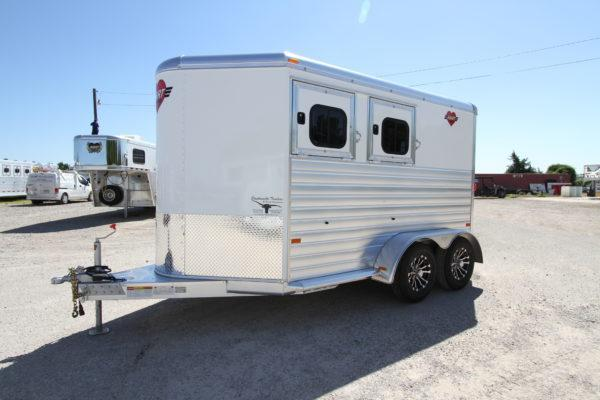 2019 Hart Solution 2H Bumper Pull Horse Trailer