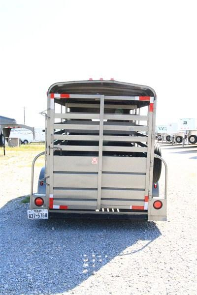 2002 S and H 12 ft BP Stock Trailer