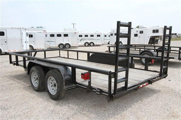2017 Tiger 16' BP Utility w/ Tractor Ramp