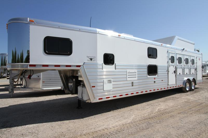 2017 Hart Tradition 4 Horse 14' SW Outlaw LQ Trailer in Ashburn, VA