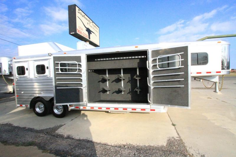 2017 Hart Trailers Tradition 3H/GN - Smart Tack Horse Trailer in  TX